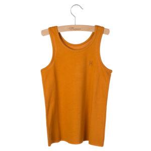 Wijs west Little Hedonist Tanktop Maddy Pumpkin Spice  SS20 Kleding & Accessoires Shirt