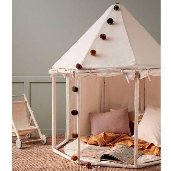 kids concept Chesterfield kinderkamer inrichting tent speeltent