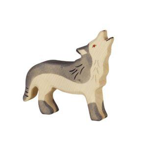 Holztiger Huilende Wolf 4013594801096