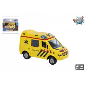 ambulance pull back auto