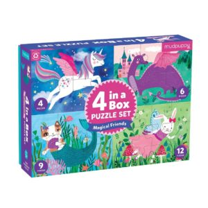 4 puzzels in een doos mudpuppy online wijs west webshop winkel amsterdam
