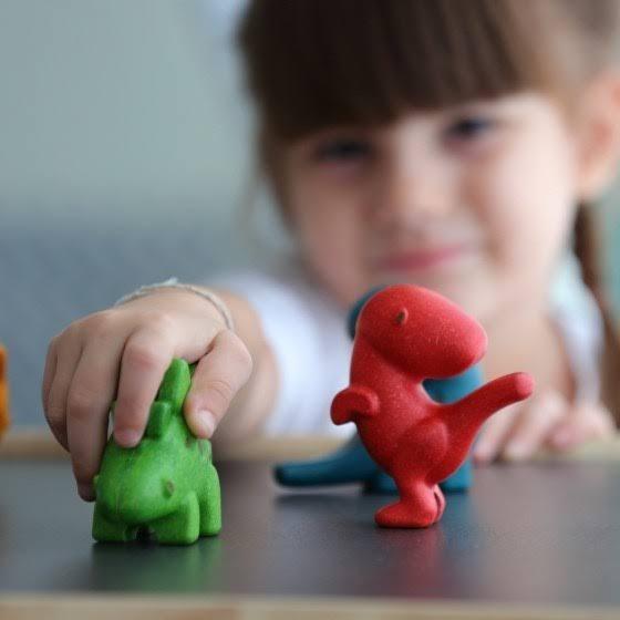 dinosaurussen speelgoed hout plan toys