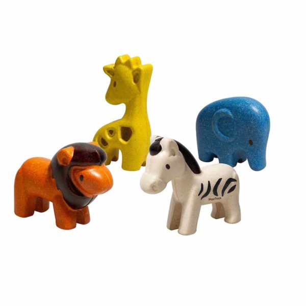plan toys houten dieren online wijs west