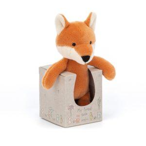 Wijs west Jelly Cat Jellycat My Friend Fox Rattle 670983121551 Jellycat20 Speelgoed & Spellen Knuffels
