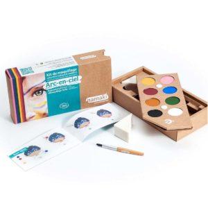 Schmink - Rainbow - 8 kleuren namaki