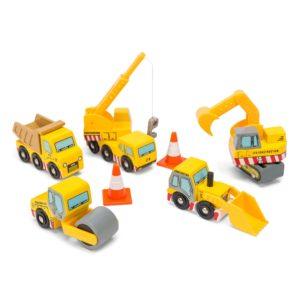 Construction le Toys Van