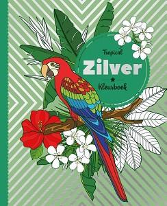 Wijs west  Kleurboek. Tropical Zilver 8712048323417 Image Books Boeken & Kleurboeken Kleurboeken