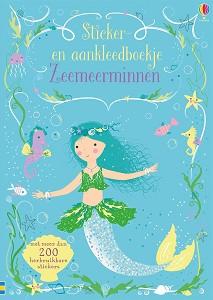 Wijs west  Zeemeerminnen Aankleedboek 9781474969994 Usborne Boeken & Kleurboeken Plak- & Doeboeken