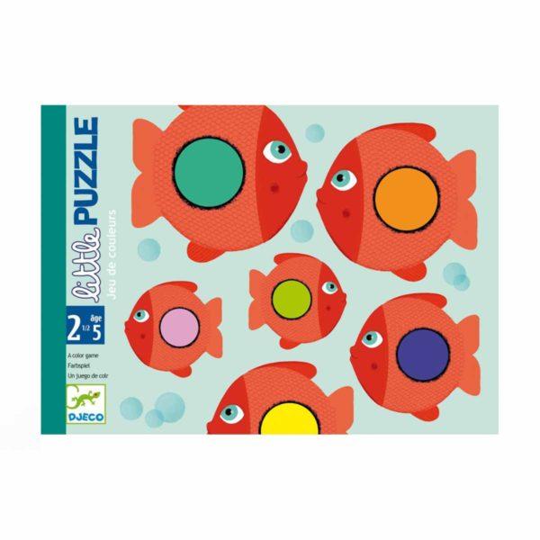 Wijs west Djeco  3070900050600 Djeco Speelgoed & Spellen Puzzels  Djeco Kaartspel Little Puzzle