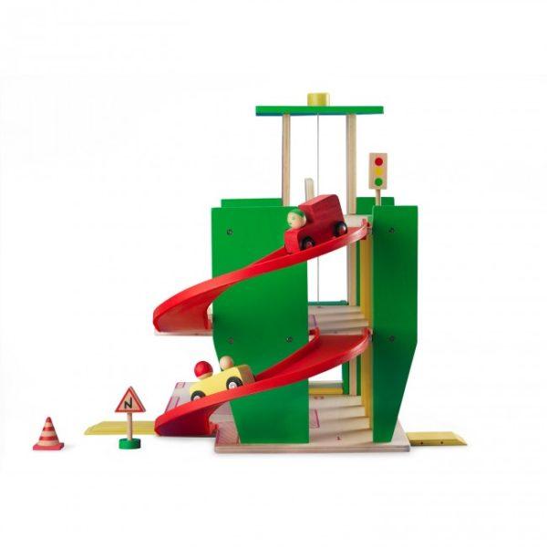 Moulin Roty Houten speelgoed garage