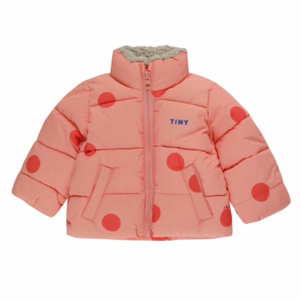 """Wijs west Tiny Cottons Tiny Cottons """"Big Dots"""" Padded Jacket AW20-283-F57  0 Kleding & Accessoires Jassen"""