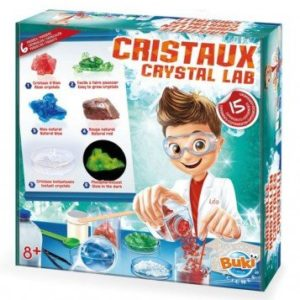 Wijs west Buki Experimenten met Kristallen - 15  3700802100362 Boosterbox Speelgoed & Spellen Experimenteren