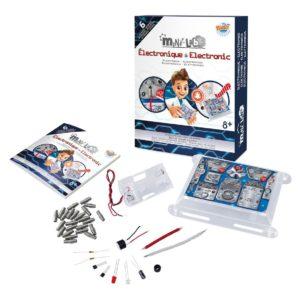 Wijs west Buki Mini Lab Electronica - 6 Experimenten  3700802101994 Boosterbox Speelgoed & Spellen Experimenteren