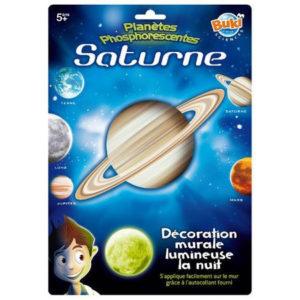 Wijs west Buki Glow Space Saturnus  605566121055 Boosterbox Speelgoed & Spellen Experimenteren