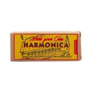 Wijs west Kikkerland Bouw je eigen Mondharmonica  612615093546 Boosterbox Speelgoed & Spellen Experimenteren