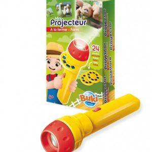 Wijs west Buki Mini Projector Dieren  7290002700289 Boosterbox Speelgoed & Spellen Experimenteren