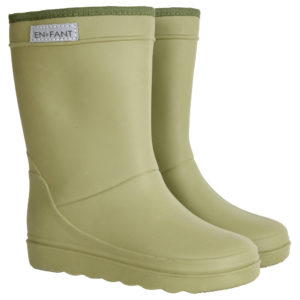 Wijs west En Fant En Fant Thermo Boots Olive  AW20 Enfant Kleding & Accessoires Schoenen Regenlaarsjes