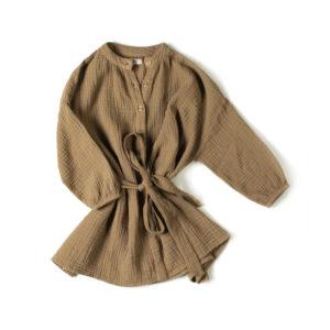 Wijs west Nixnut Nixnut Cord Dress Olive  AW20 Nixnut Kleding & Accessoires Rokjes & Jurkjes