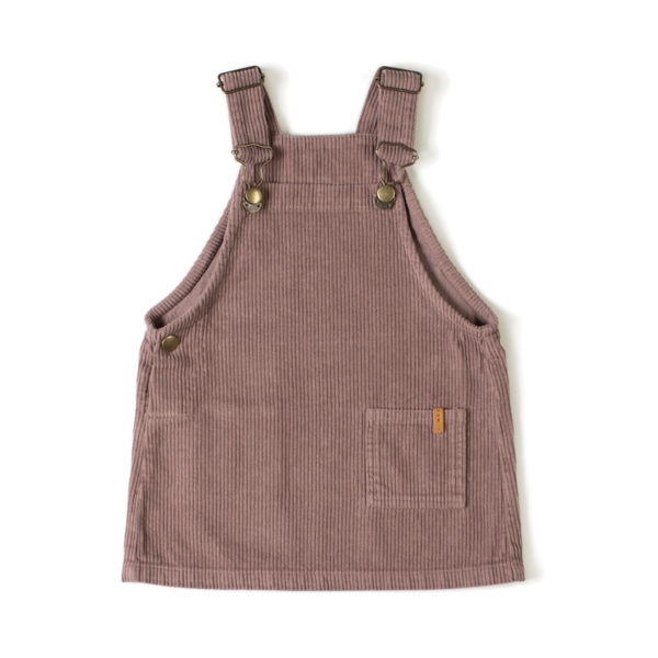 Wijs west Nixnut Nixnut Dungee Dress Mauve  AW20 Nixnut Kleding & Accessoires Rokjes & Jurkjes