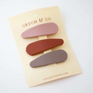 Grech & Co Matte Haarclips