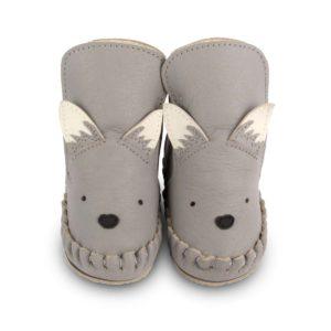 Wijs west Donsje  Donsje Kapi Special Wolf  Donsje Aw20 Kleding & Accessoires Schoenen Slofjes