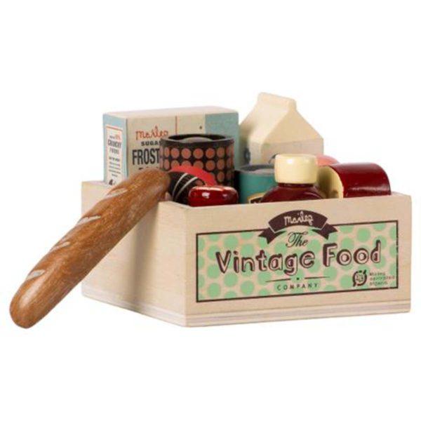 Maileg Vintage food, Grocery box