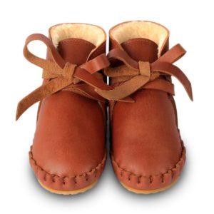 Wijs west Donsje  Donsje Pina Cognac Leather  Donsje Aw20 Kleding & Accessoires Schoenen Slofjes