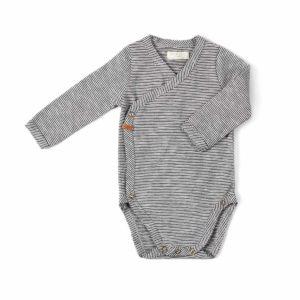 Romper stripe nixnut Wijs West kleding baby kraamkado