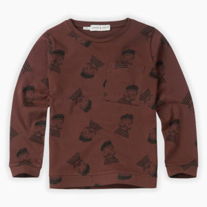 Wijs west Sproet & Sprout Sproet & Sprout T-shirt Pierrot   Sproet AW20 Kleding & Accessoires Shirts
