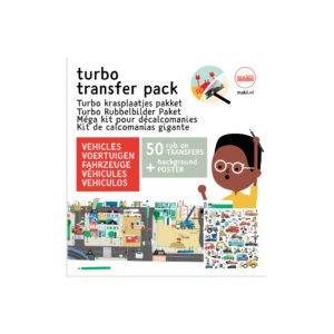 Makii Turbo Transfer Pack 'VEHICLES'