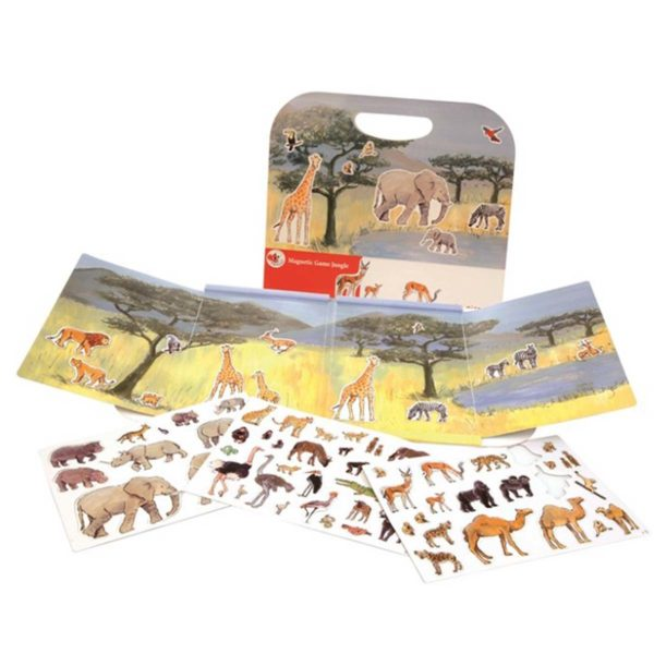 5420023015242 Egmond Magneetspel Dieren toys