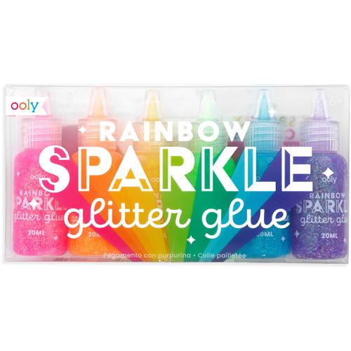 Ooly - Regenboog glitter lijm
