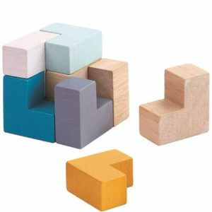 Plan Toys Cube Puzzle Voorbeeld