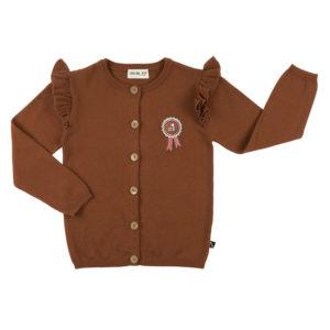 Wijs west CarlijnQ Rosette - Cardigan Wings Knit 8720088747117 AW20CarlijnQ Kleding & Accessoires Vesten