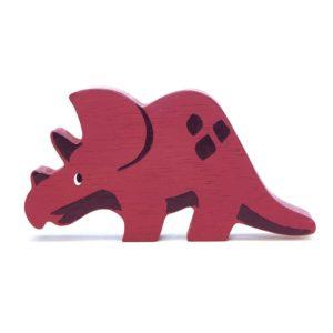Wijs west Tender Leaf Toys Dino - Triceratops 191856047643   Speelgoed & Spelen Houten Speelgoed