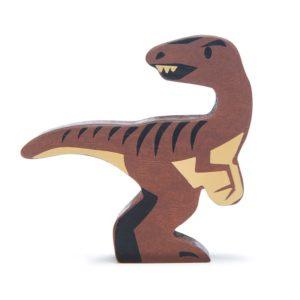 Wijs west Tender Leaf Toys Dino - Velociraptor 191856047629   Speelgoed & Spelen Houten Speelgoed