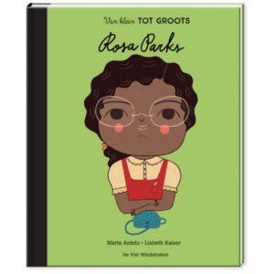 Rosa Parks groeide op in Alabama, waar ze al op jonge leeftijd leerde om voor zichzelf op te komen. Ze groeide op tot een burgerrechtenactiviste die met haar moed en waardigheid een beweging op gang bracht die een einde zou maken aan de rassenscheiding. Rosa zou nooit stoppen met haar strijd voor gelijke rechten. Ze is voor ontelbaar veel mensen een voorbeeld geworden van moed, waardigheid en doorzettingsvermogen in de strijd tegen ongelijkheid.