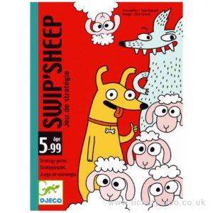 Wijs west Djeco Djeco Swip Sheep Kaartspel  DJ05145 Djeco: Verdeel alle kattenkaarten tussen de spelers. Vormen de kaarten een setje leg ze dan op een stapeltje voor je. Het spel kan beginnen: trek om de beurt een kaart uit het spel van een andere speler. Trekt de speler een kaart waarmee hij een paar kan vormen
