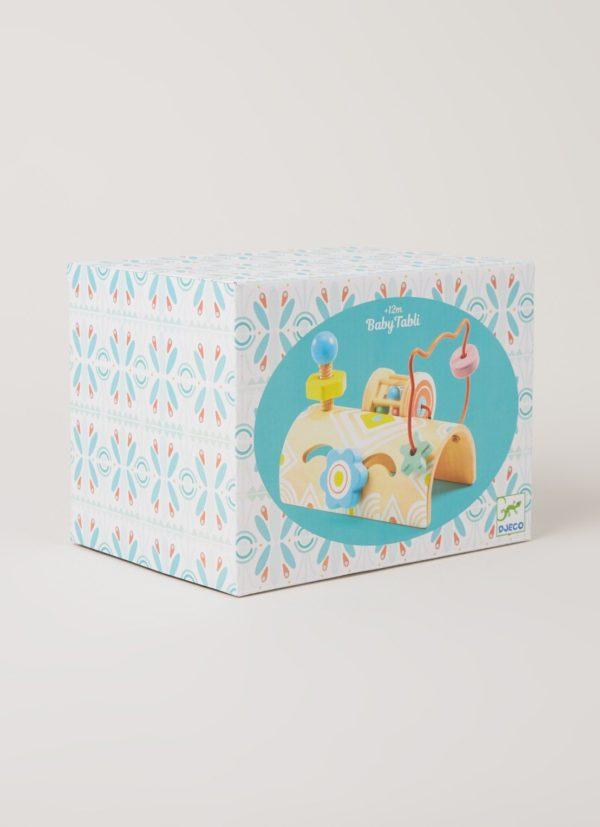 Wijs west Djeco Djeco Baby Activiteitenspel DJ06120 Djeco: Baby Tabli activiteitentafel van hout 19