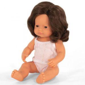 Miniland babypop Bruin Haar