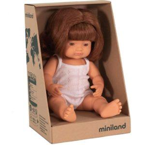 Miniland babypop Roodhaar Doos