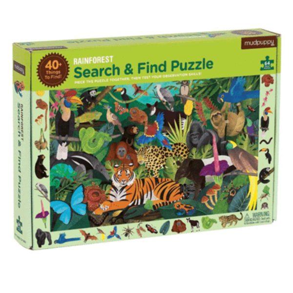 Mudpuppy Search & Find Puzzel
