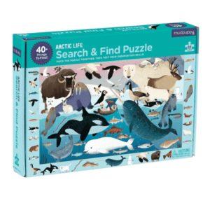 Mudpuppy Search & Find Puzzel Artic Life