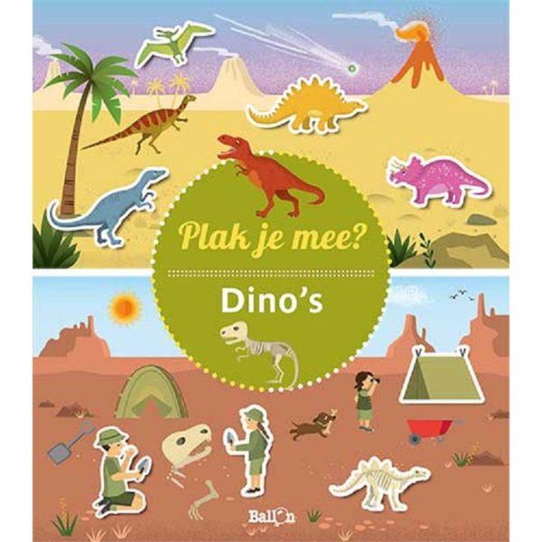 Plak je mee? Dino's 9789403218304