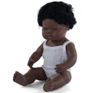 miniland babypop afrikaans jongen