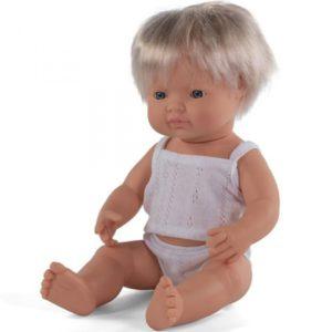 miniland babypop europees jongen