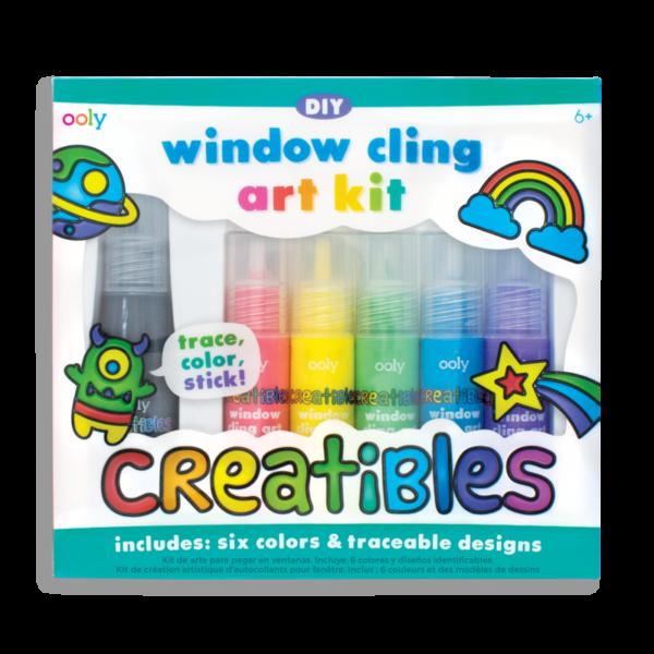 ooly wijs west window raam creatibles art kit stiften