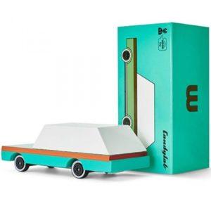 Wijs west CandyLab Candycar - Teal Wagon  853470008577 Candylab Speelgoed & Spellen Voertuigen