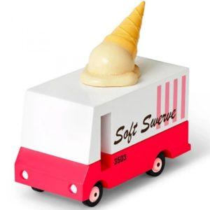 Wijs west CandyLab Candyvan - Ice Cream Bus  853470008751 Candylab Speelgoed & Spellen Voertuigen