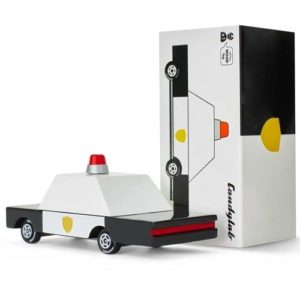 Wijs west CandyLab Candycar - Politie Auto 853470008560 Candylab Speelgoed & Spellen Voertuigen